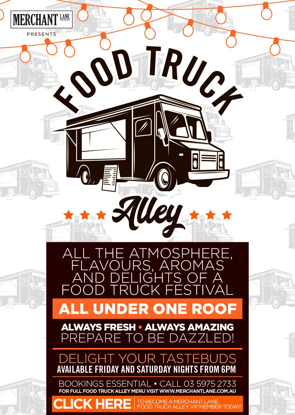 Merchant Lane Food Truck Alley